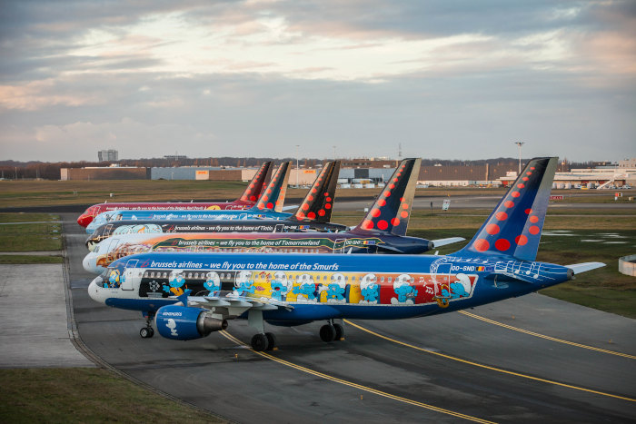 Travel with peace of mind with the digital services of Brussels Airlines