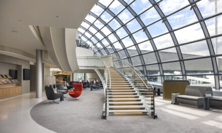 The Air France Roissy lounge gets a makeover